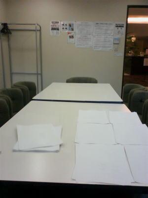 義援金セミナー(会議室)